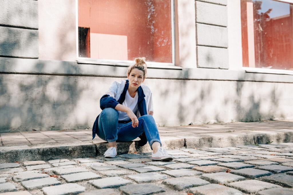 Portrait auf der Strasse