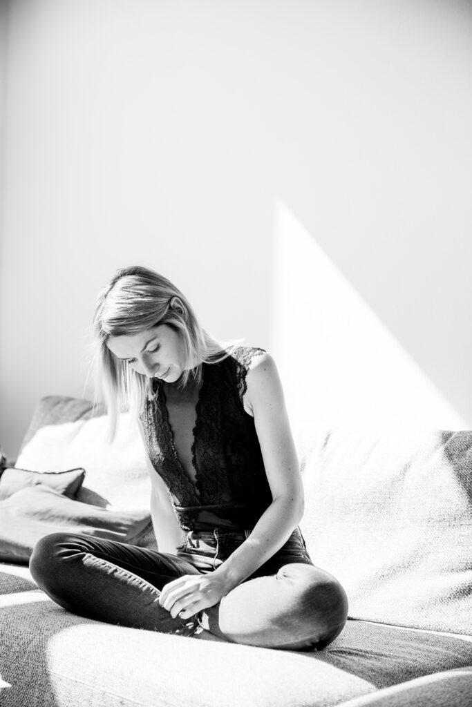 Julia Gruber at home