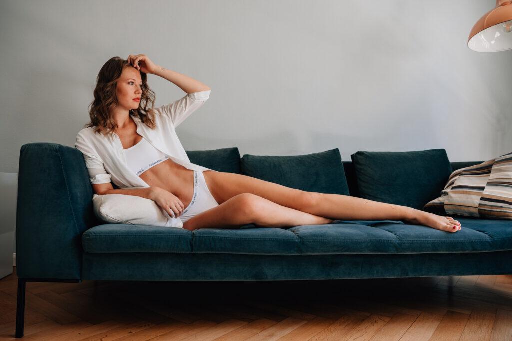 Model Calvin Klein