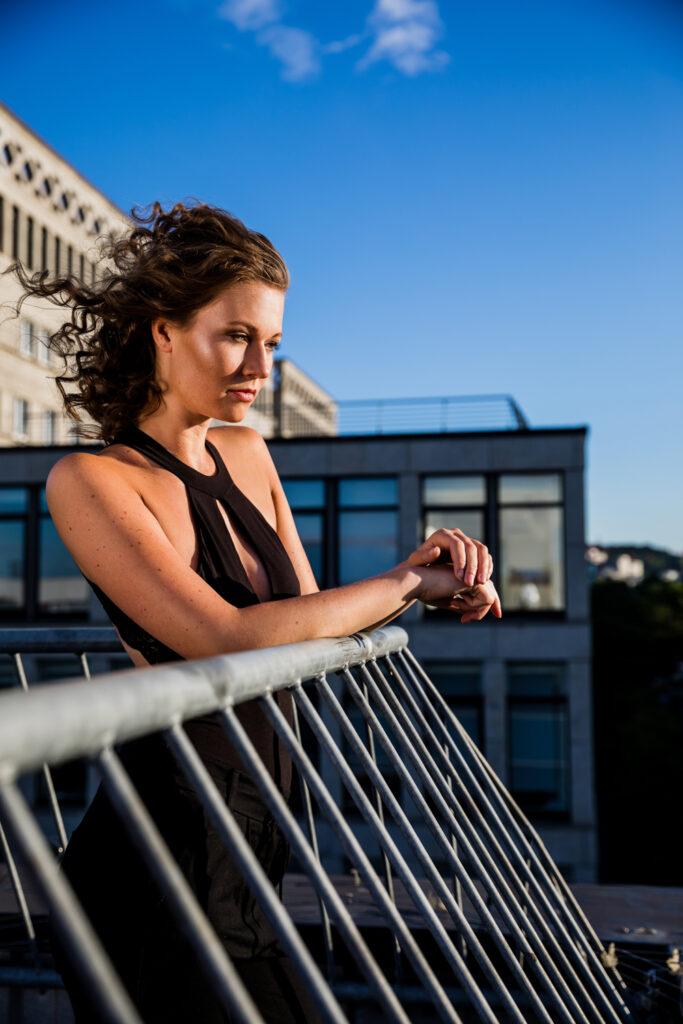 Modelfoto rooftop